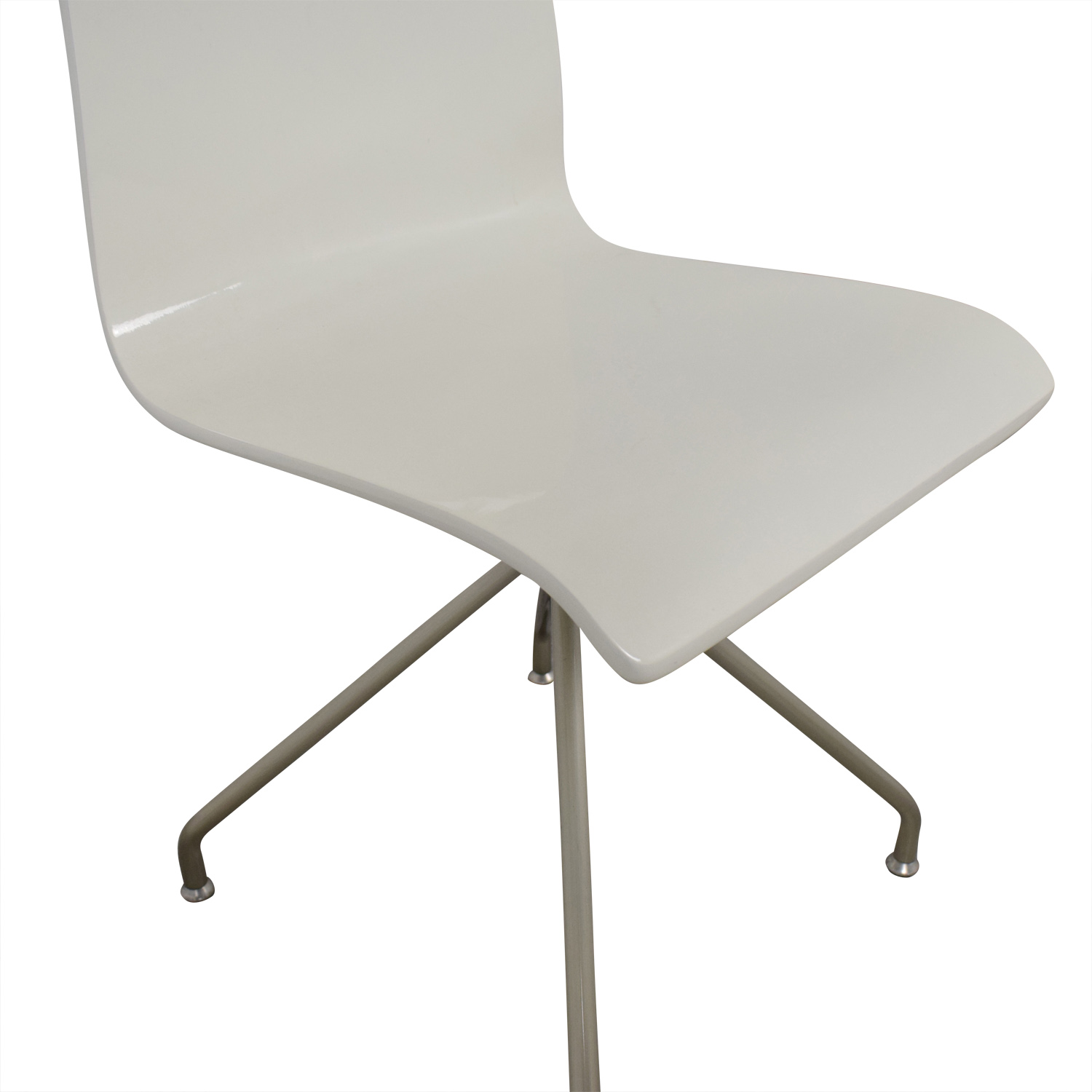 Crate & Barrel Crate & Barrel White Office Chair Chairs
