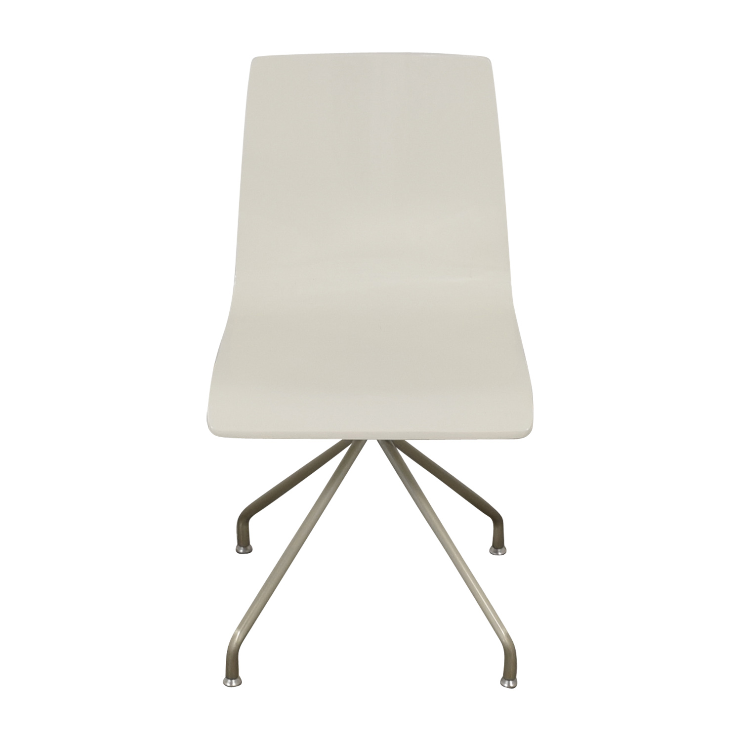 Crate & Barrel Crate & Barrel White Office Chair used