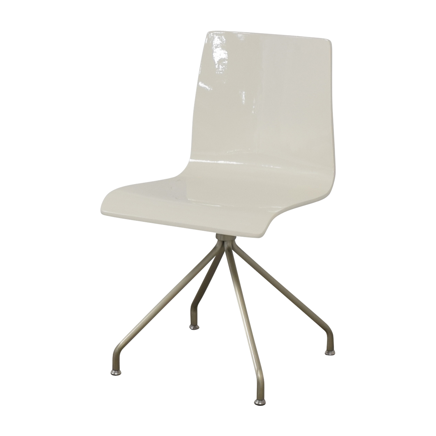 buy Crate & Barrel White Office Chair Crate & Barrel Home Office Chairs