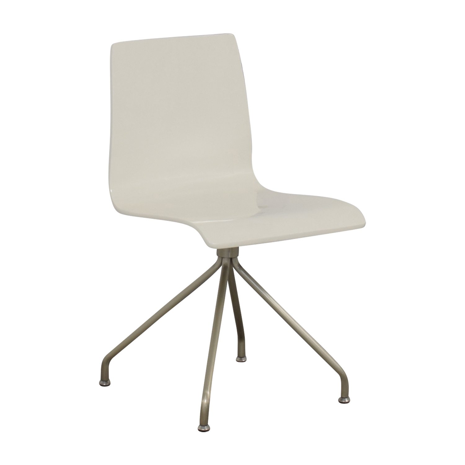 buy Crate & Barrel White Office Chair Crate & Barrel Chairs