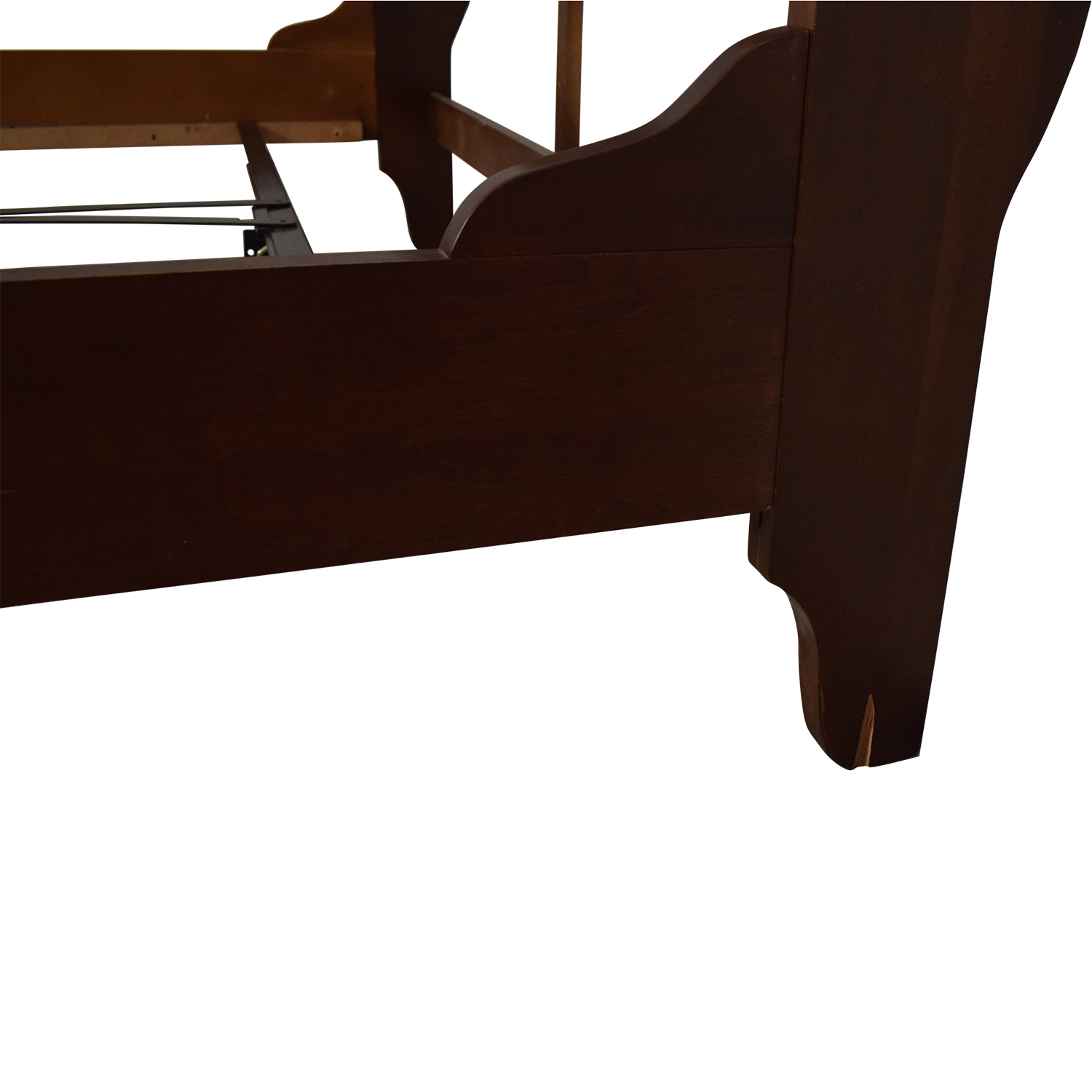 Kincaid Chocolate Brown Wood Queen Bed / Bed Frames