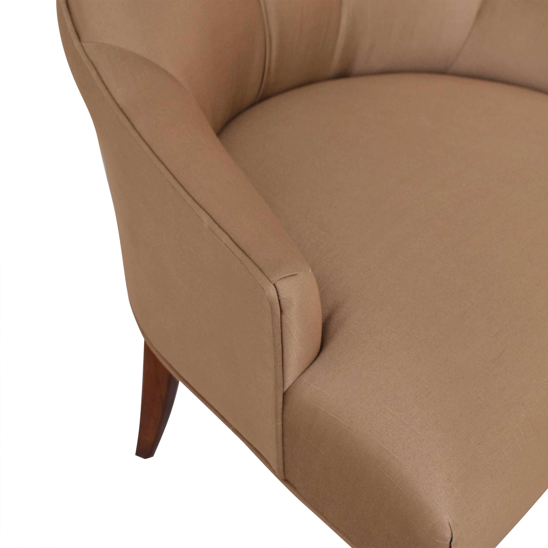 Bernhardt Bernhardt Gray Deco Dining Chairs used
