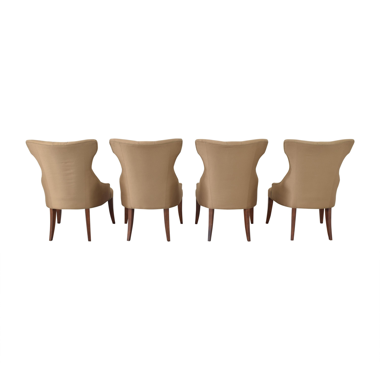Bernhardt Bernhardt Gray Deco Dining Chairs on sale