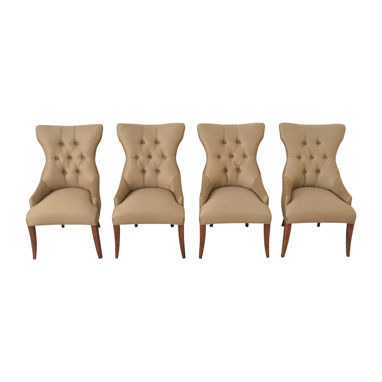 Bernhardt Bernhardt Gray Deco Dining Chairs coupon