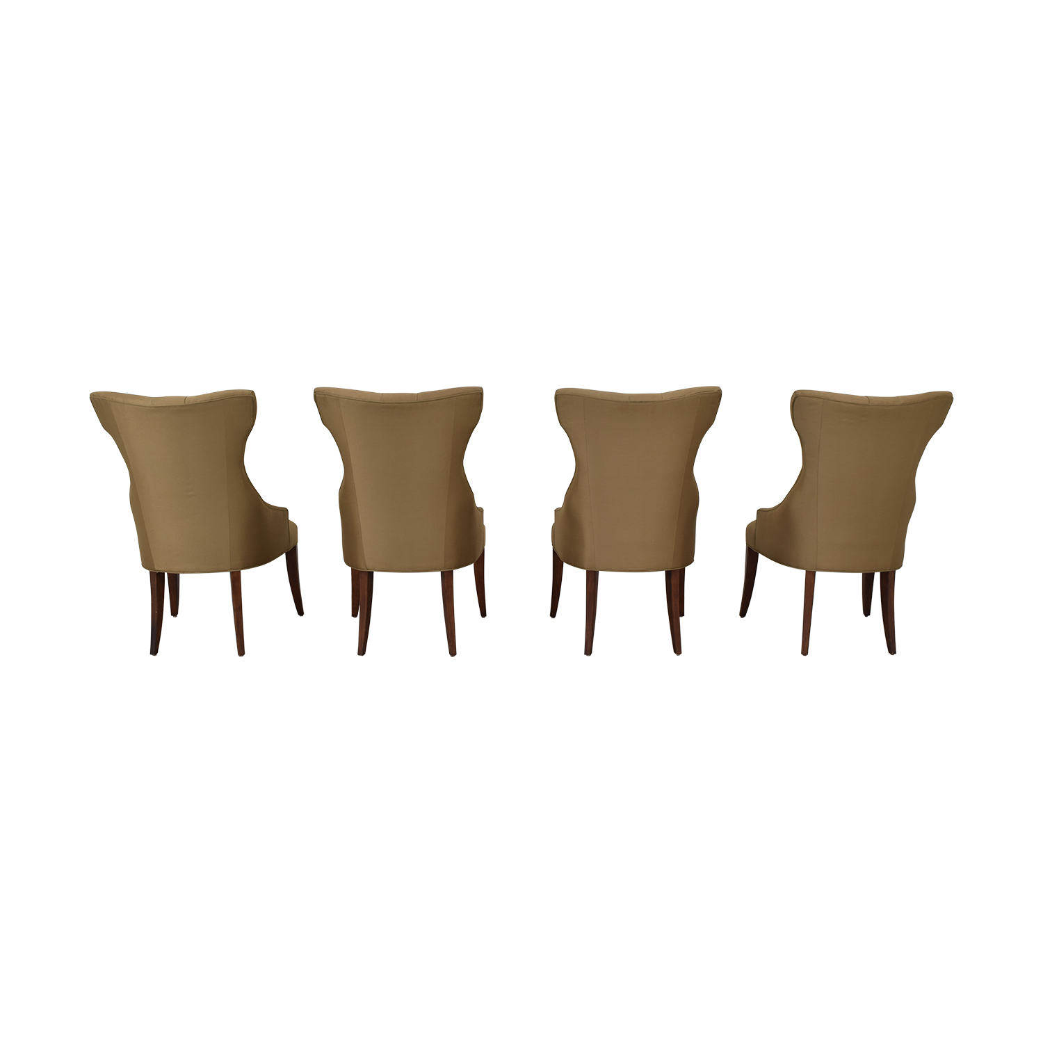 Bernhardt Bernhardt Gray Deco Dining Chairs on sale