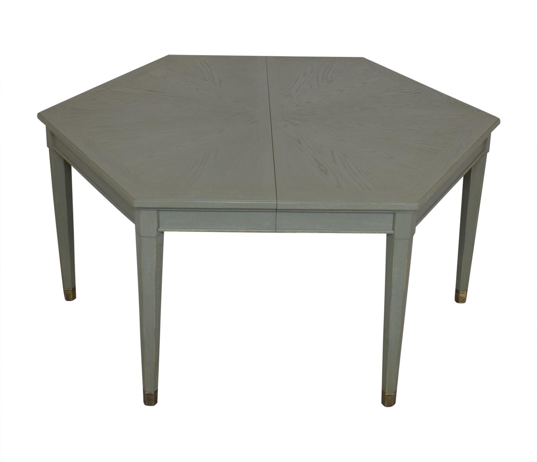 Stanley Furniture Stanley Furniture Soledad Promenade Leg Table dimensions