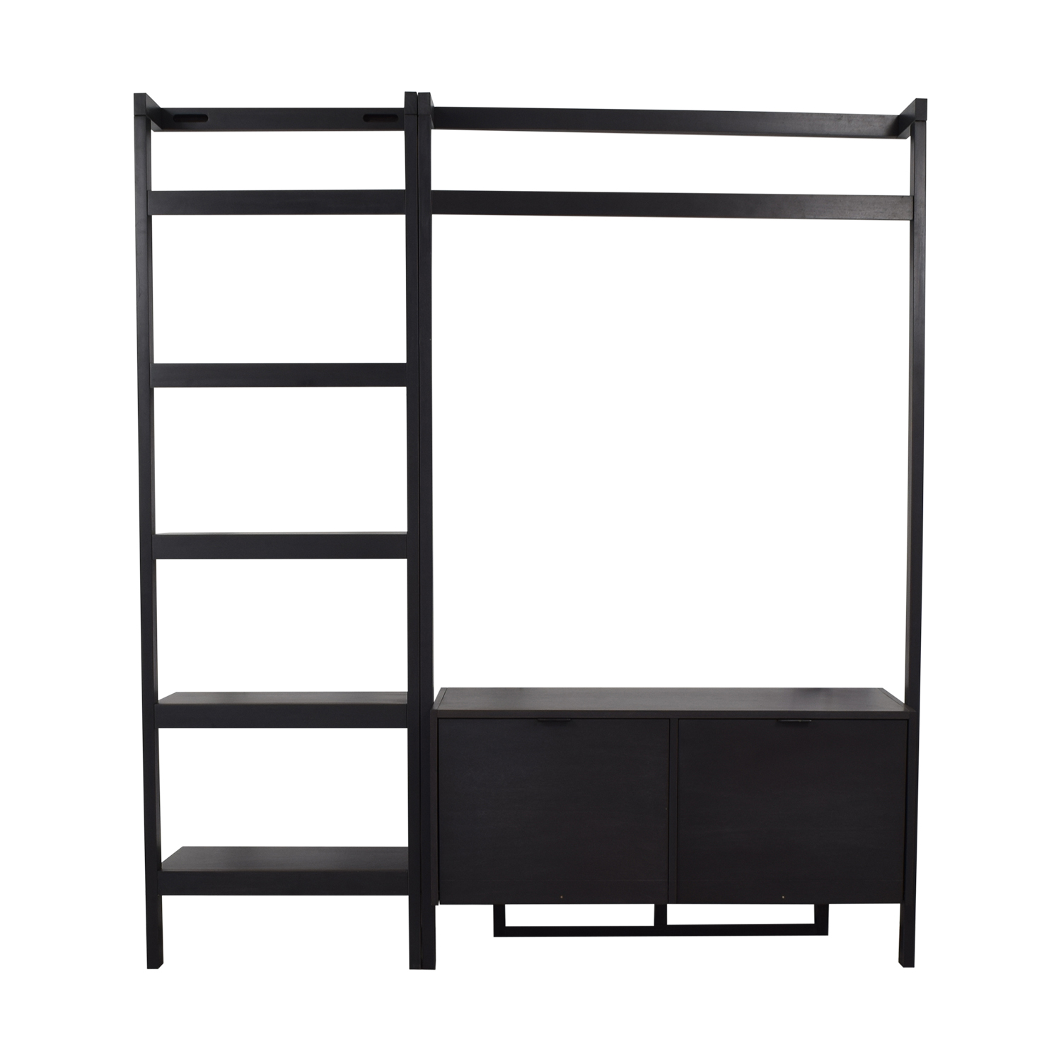 Crate & Barrel Crate & Barrel Sawyer Media Unit and Bookshelf discount