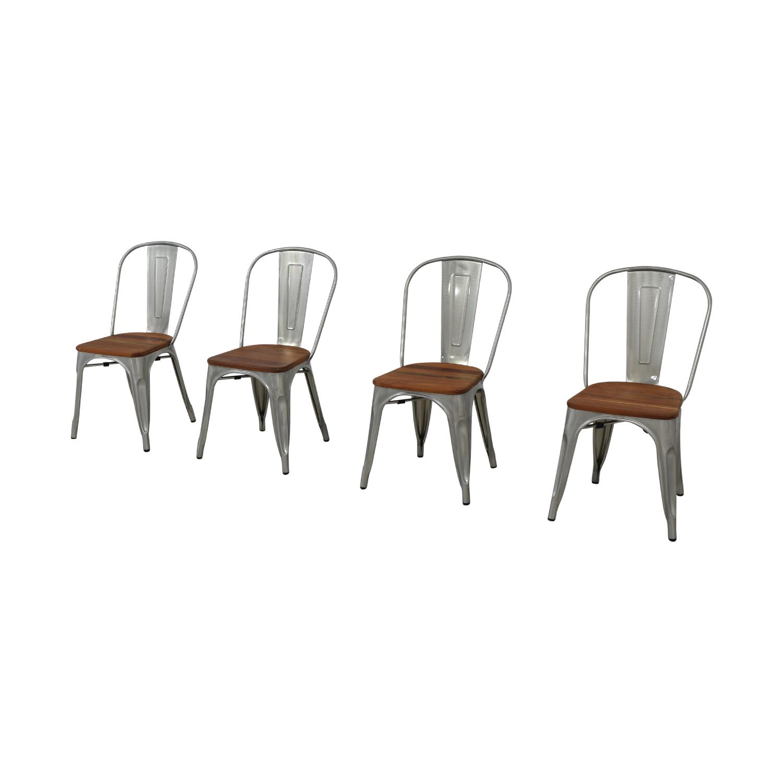West Elm West Elm Industrial Side Chairs
