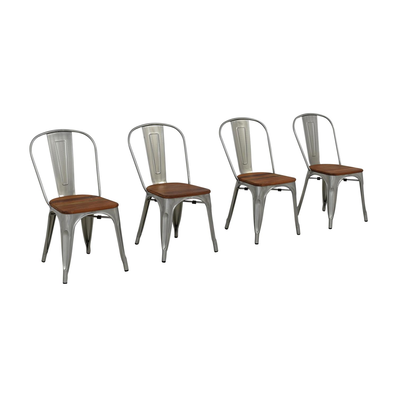 buy West Elm West Elm Industrial Side Chairs online