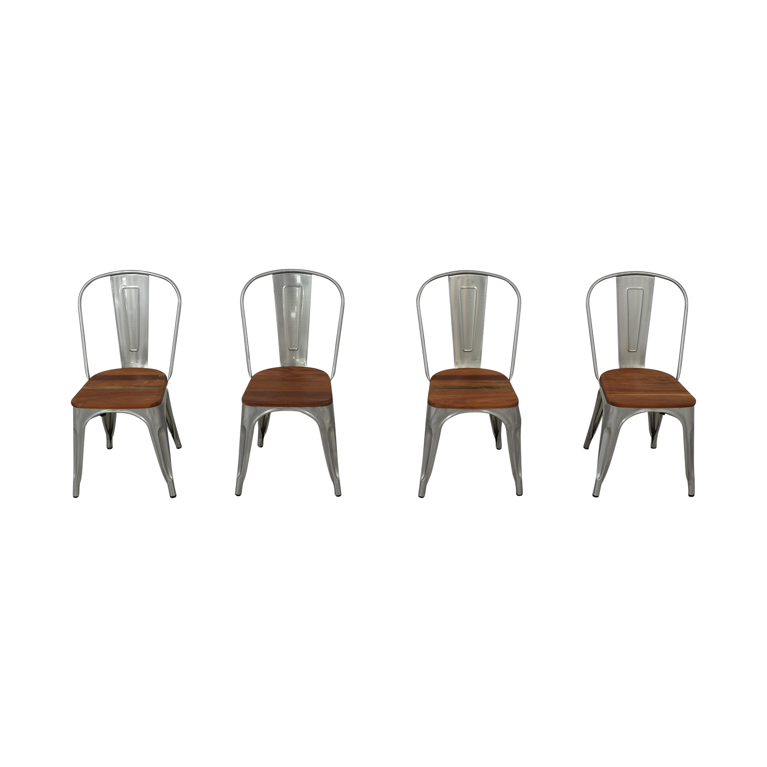 West Elm West Elm Industrial Side Chairs Dining Chairs