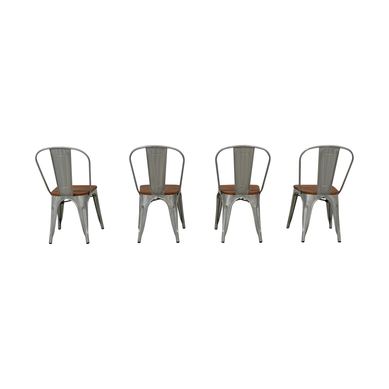 West Elm West Elm Industrial Side Chairs second hand