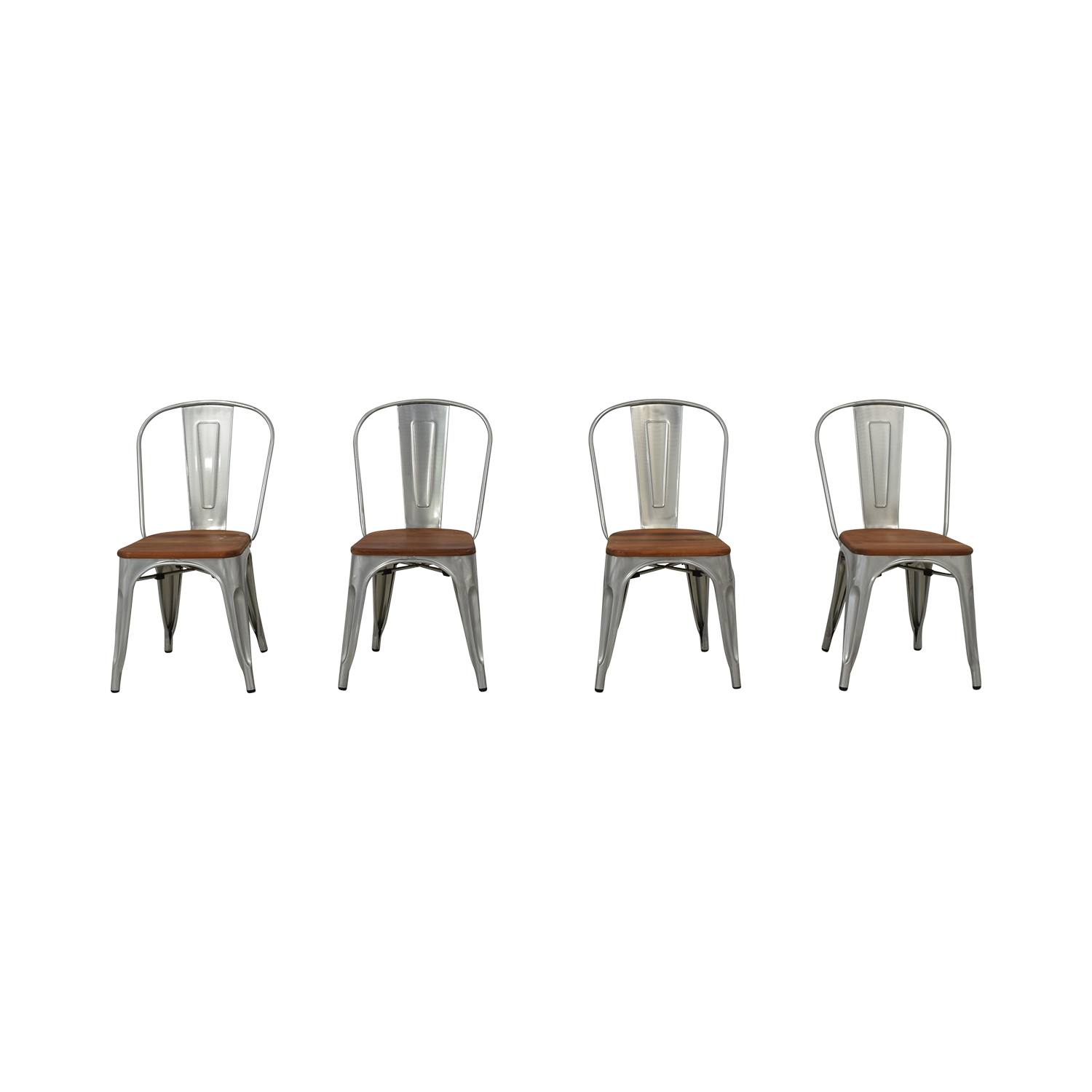 buy West Elm Industrial Side Chairs West Elm Dining Chairs