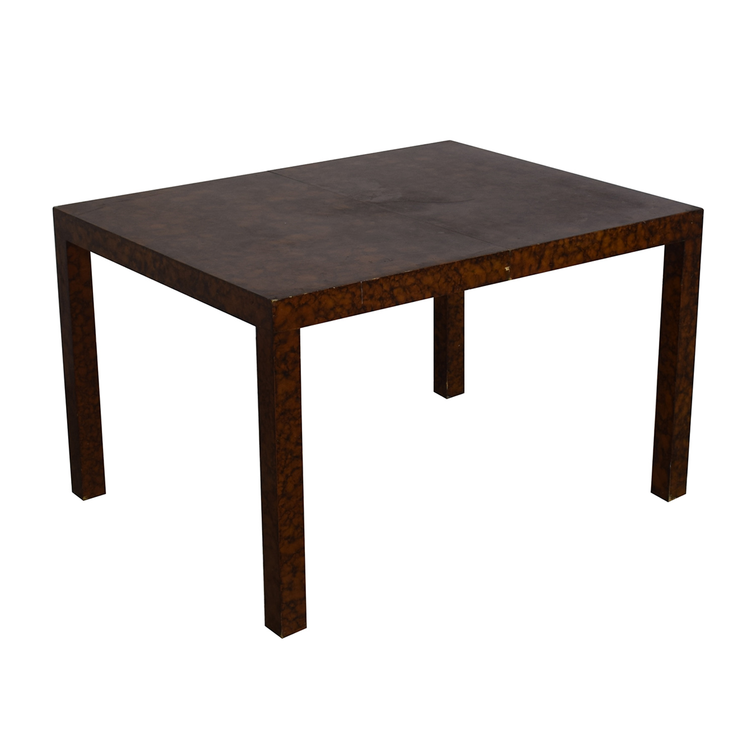 Directional Furniture Directional Furniture Milo Baughman Burl Parsons Dining Table discount