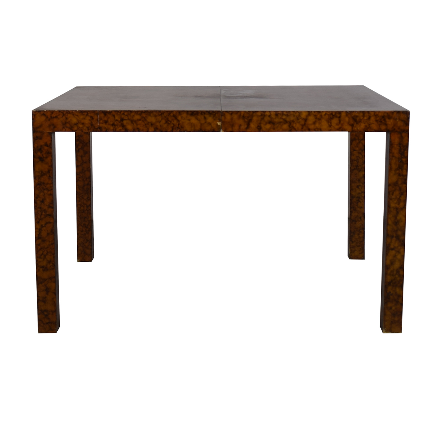 Directional Furniture Directional Furniture Milo Baughman Burl Parsons Dining Table brown