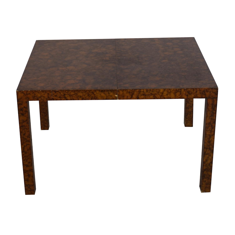 Directional Furniture Directional Furniture Milo Baughman Burl Parsons Dining Table dimensions