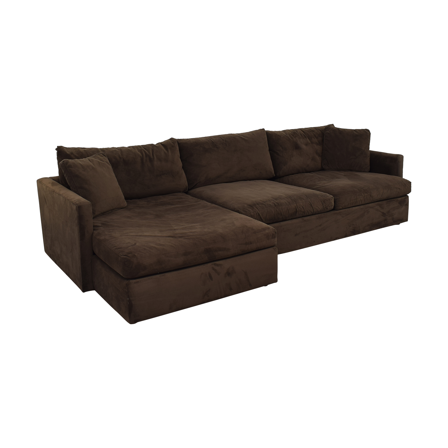 shop Crate & Barrel Crate & Barrel Sofa Sectional with Chaise online