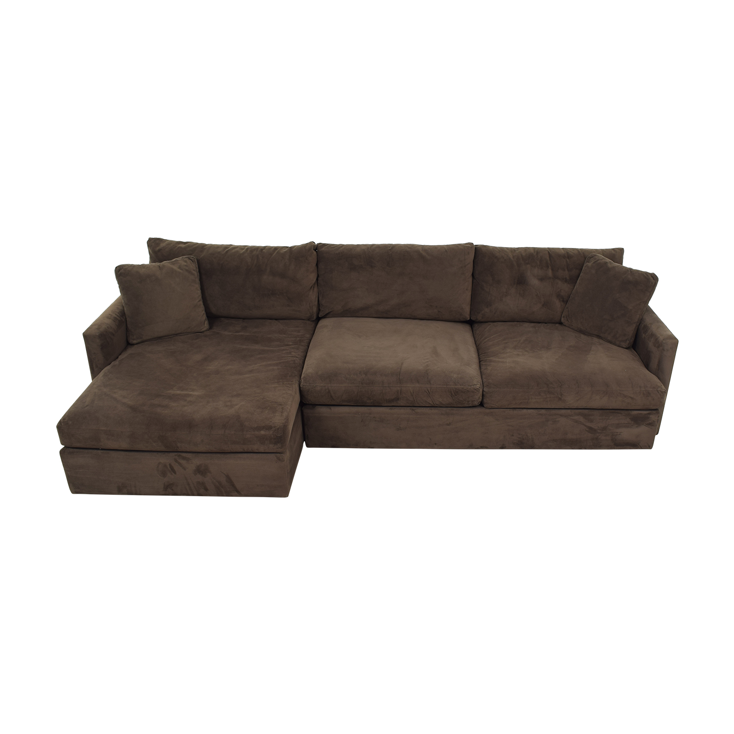 Crate & Barrel Sofa Sectional with Chaise / Sectionals