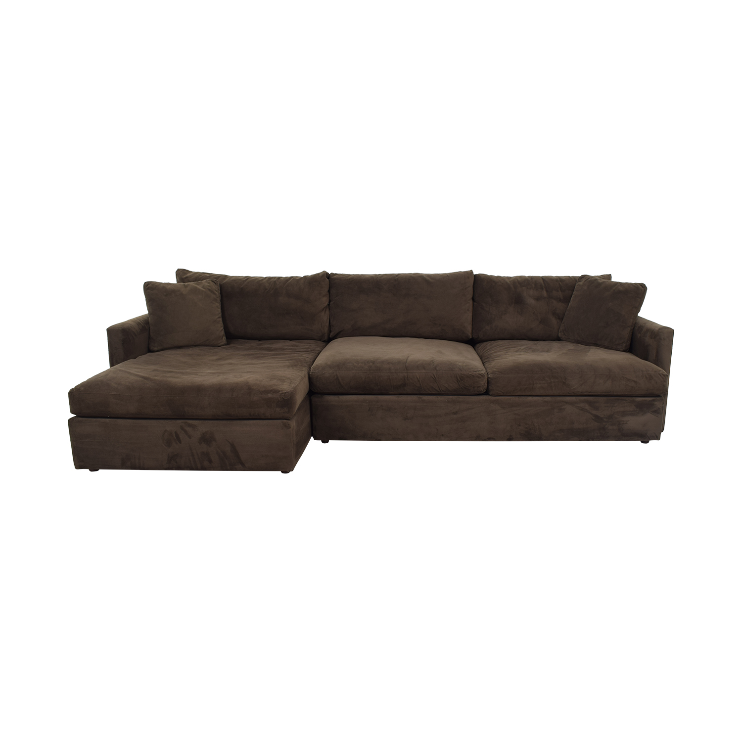 Crate & Barrel Crate & Barrel Sofa Sectional with Chaise second hand