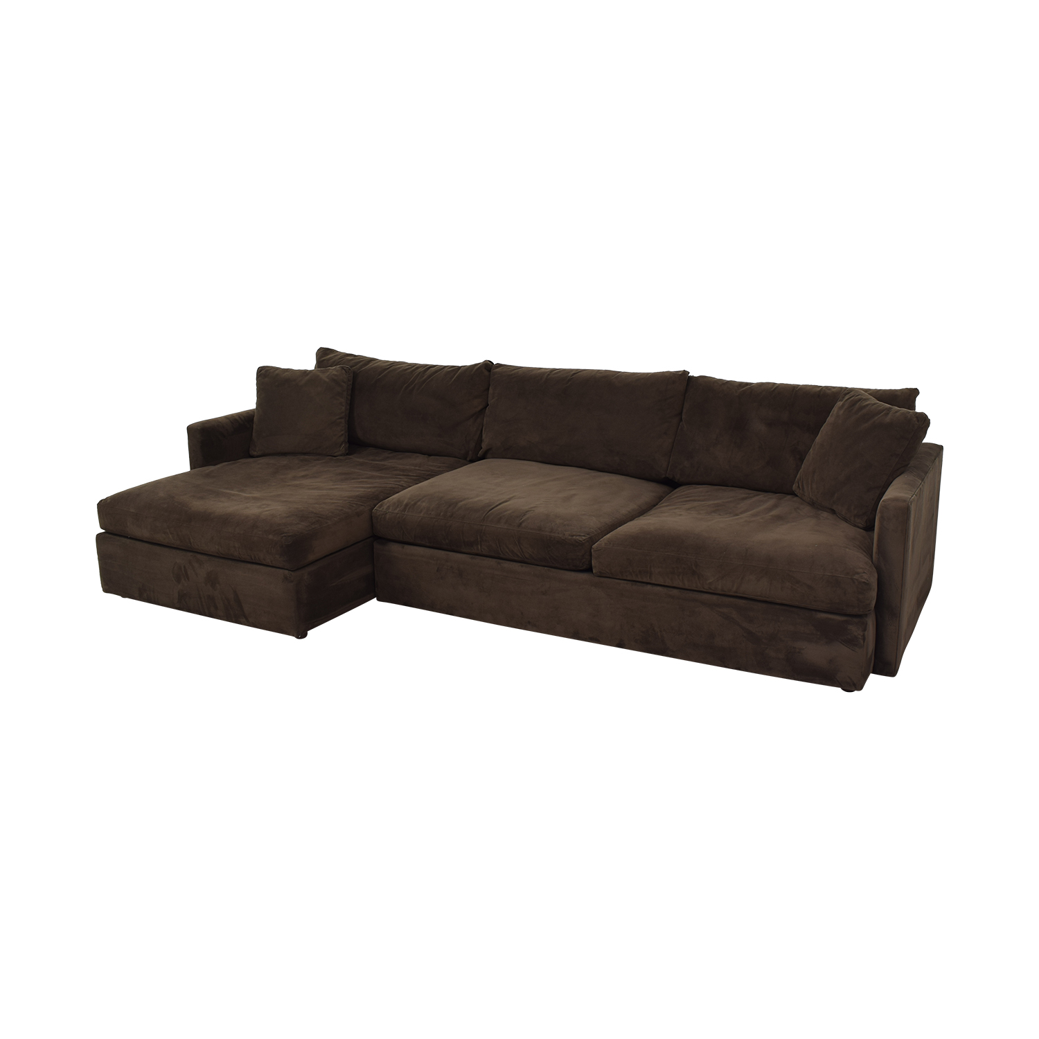 buy Crate & Barrel Sofa Sectional with Chaise Crate & Barrel Sectionals