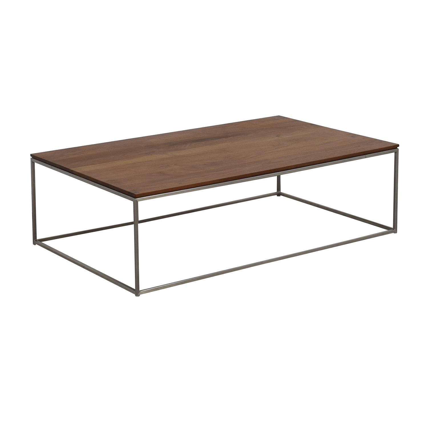 Crate & Barrel Crate & Barrel Frame Medium Coffee Table coupon