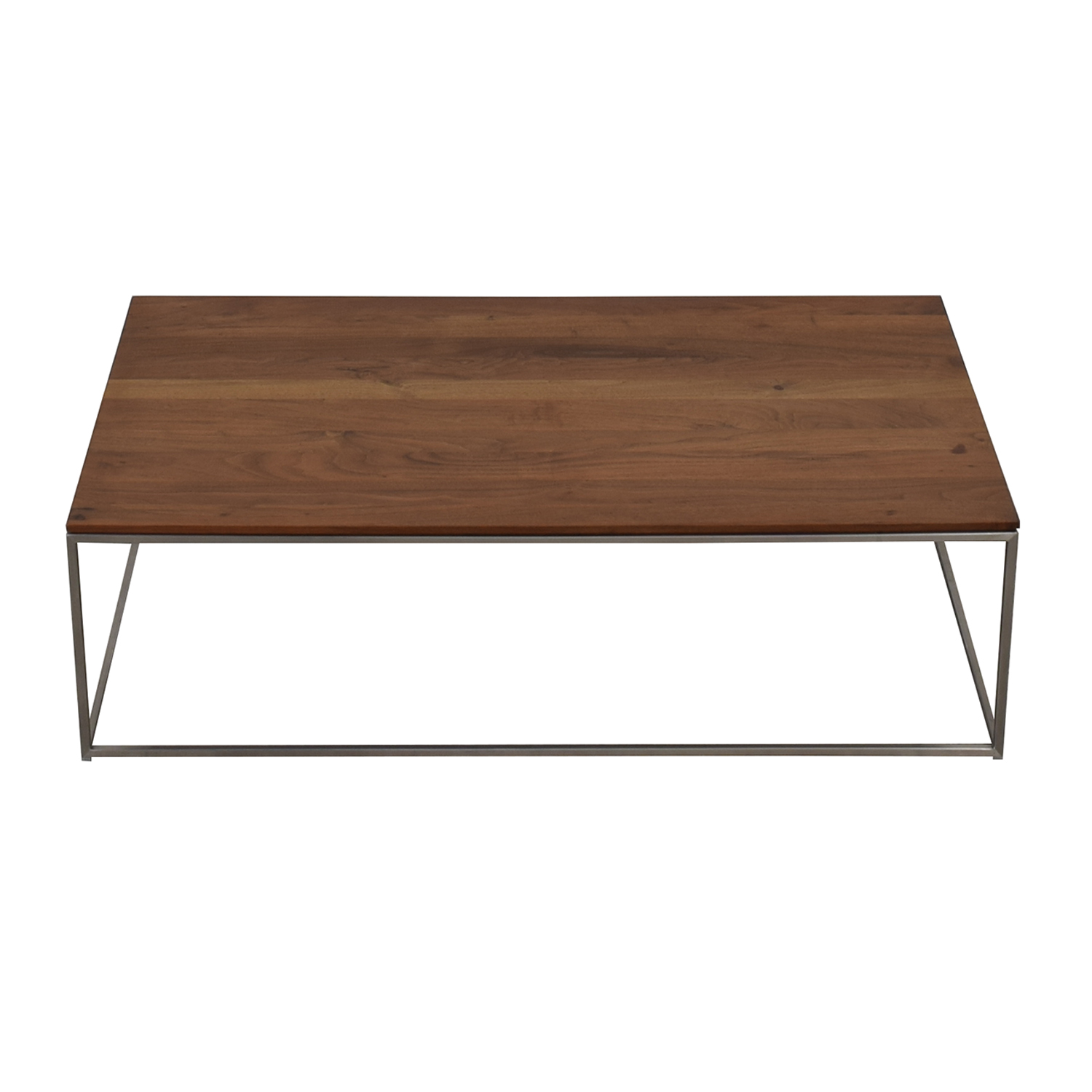 Crate & Barrel Crate & Barrel Frame Medium Coffee Table nj