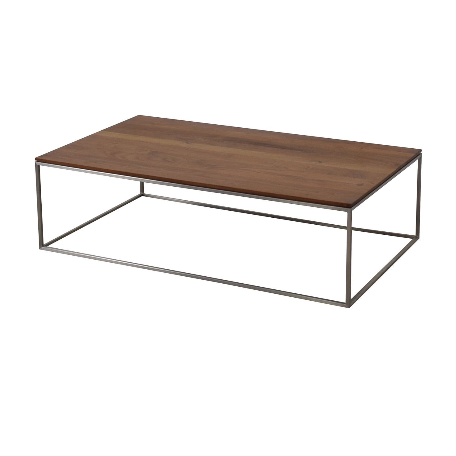 Crate & Barrel Crate & Barrel Frame Medium Coffee Table second hand