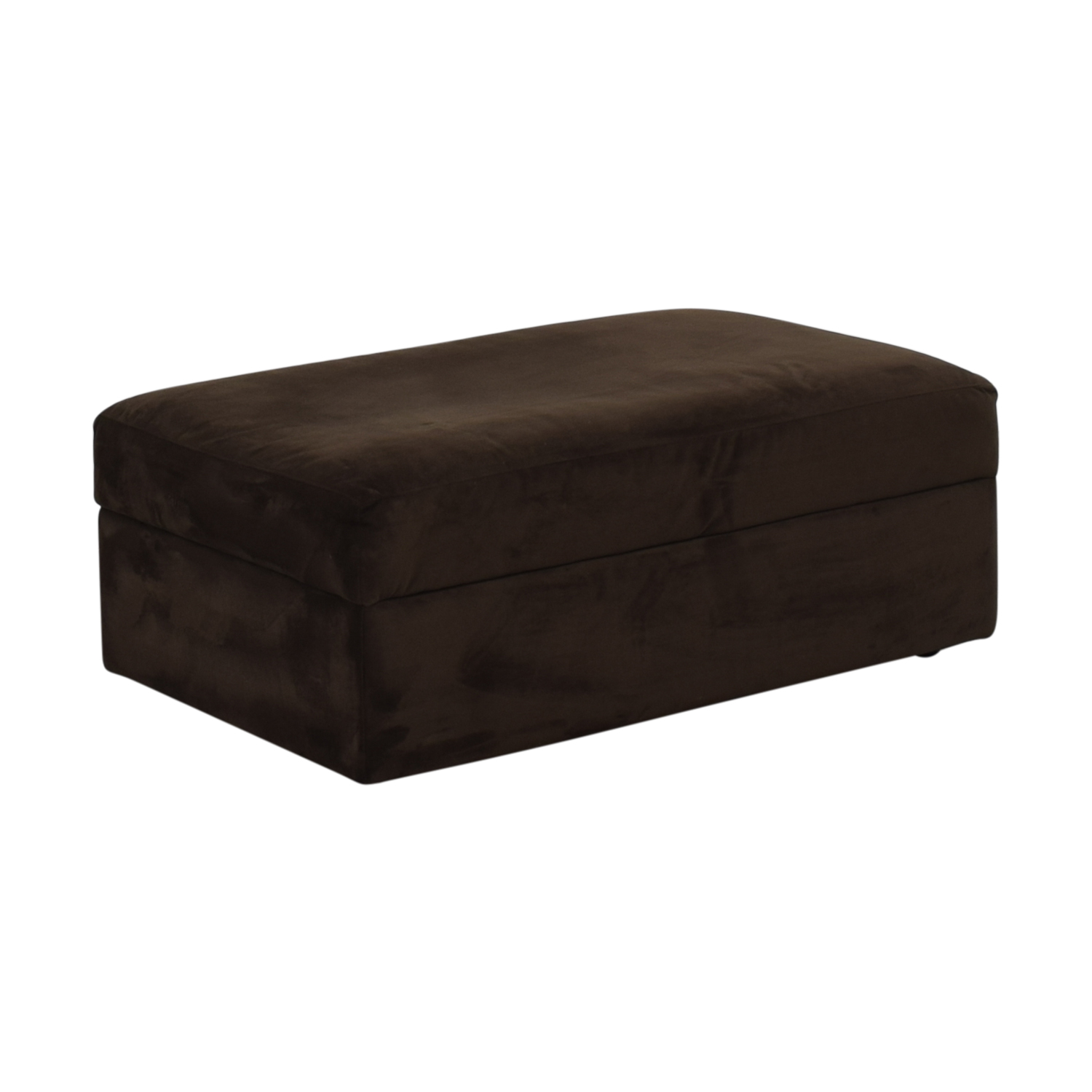 buy Crate & Barrel Storage Ottoman Crate & Barrel
