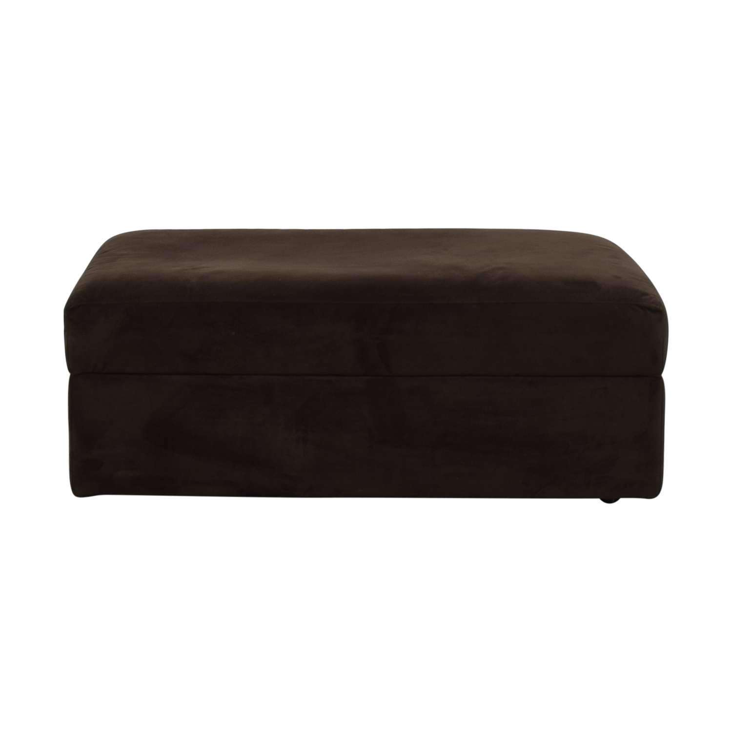 Crate & Barrel Crate & Barrel Storage Ottoman nj