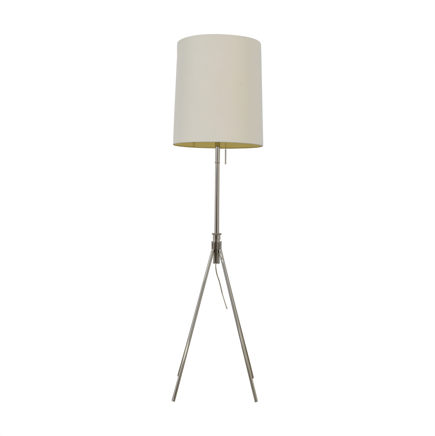 buy West Elm Adjustable Metal Floor Lamp Polished Nickel West Elm Decor