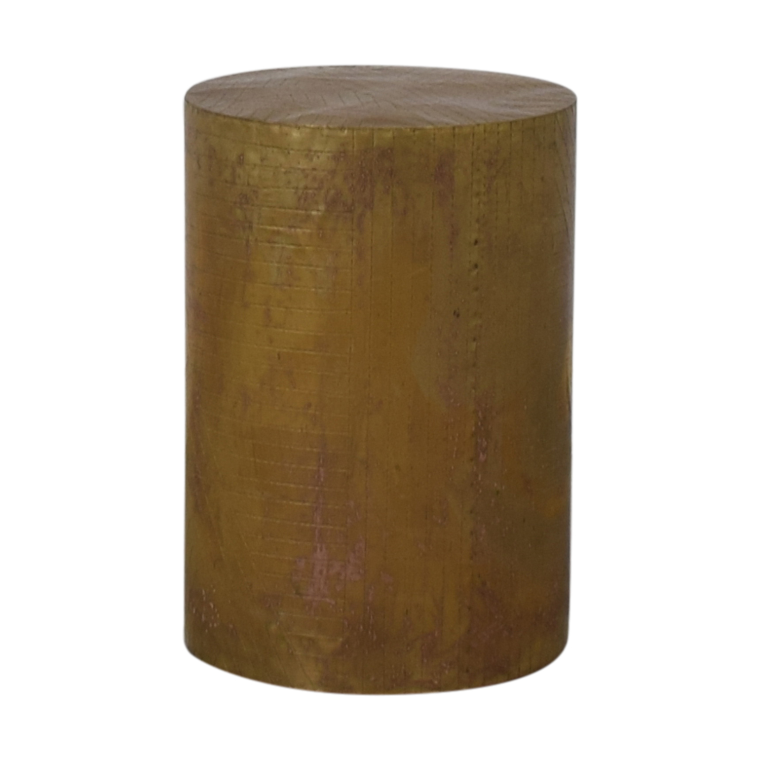 West Elm West Elm Metal Etched Side Table discount