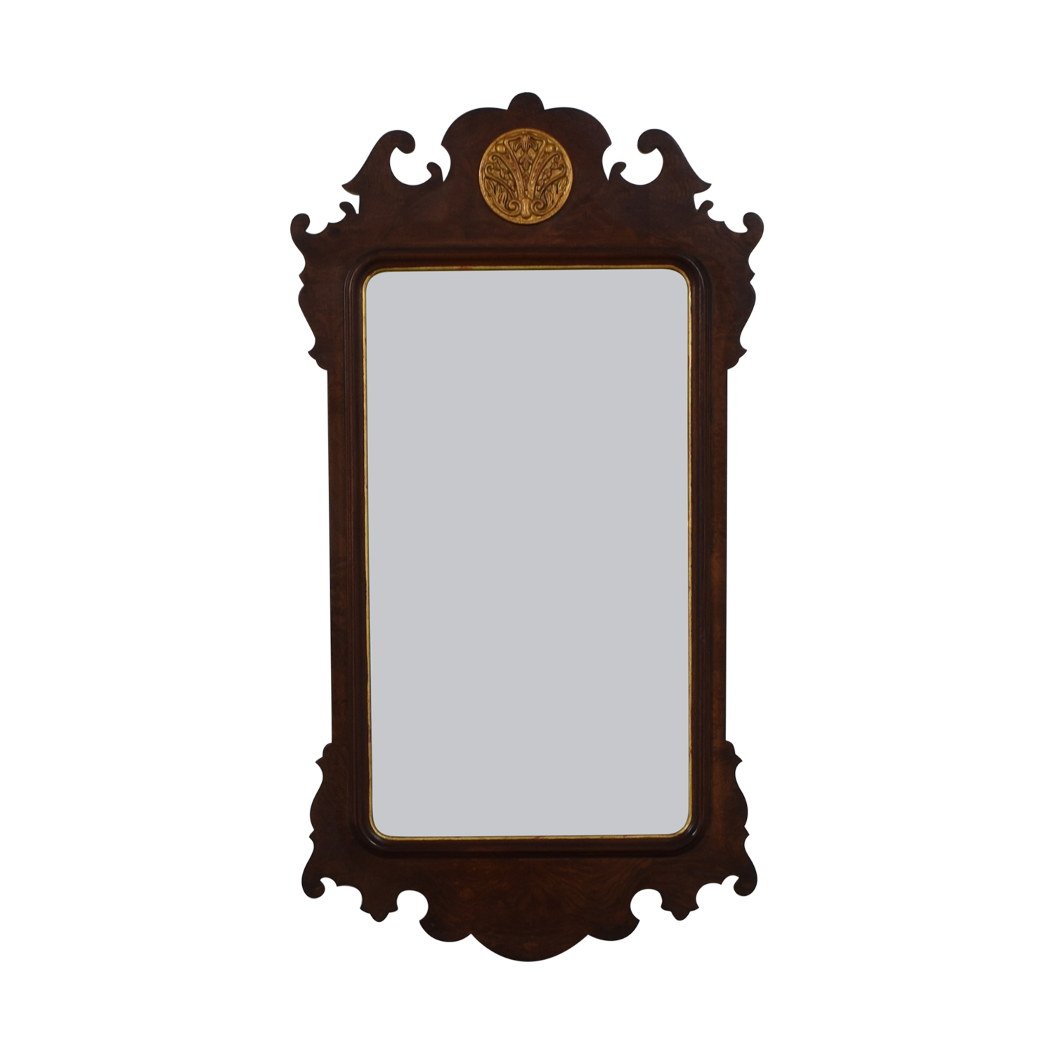 Henredon Furniture Henredon Mahogany Wall Mirror dimensions