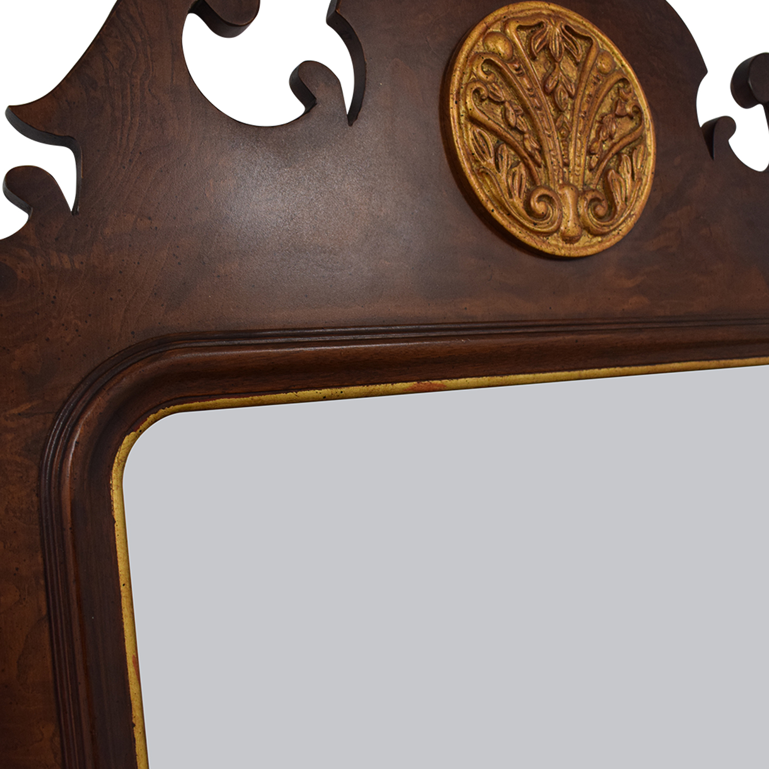 shop Henredon Mahogany Wall Mirror Henredon Furniture