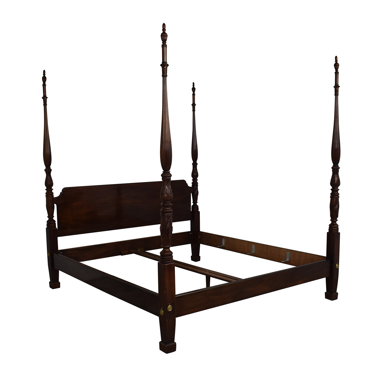 82 Off Henredon Furniture Henredon Furniture King Bed Frame Beds