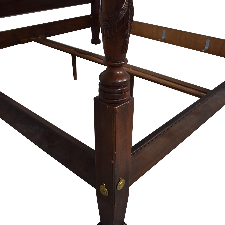 Henredon Furniture Henredon Furniture King Bed Frame discount