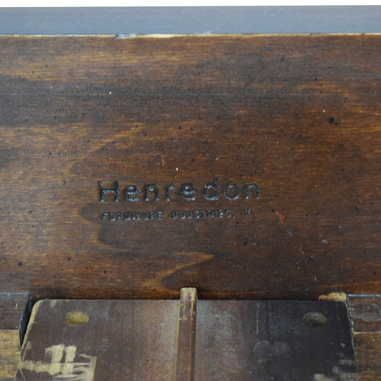 shop Henredon Furniture King Bed Frame Henredon Furniture