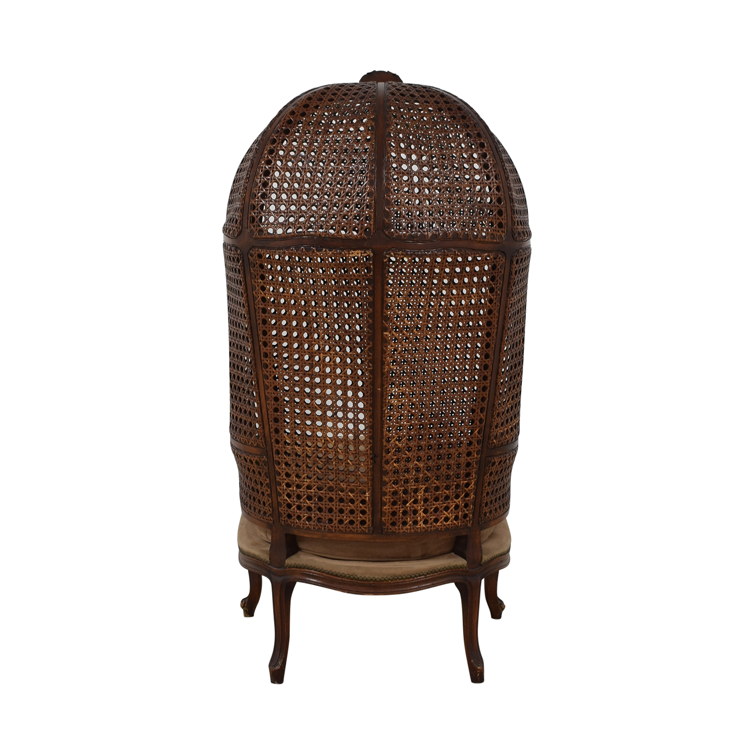Canopy Cane Back Chair on sale