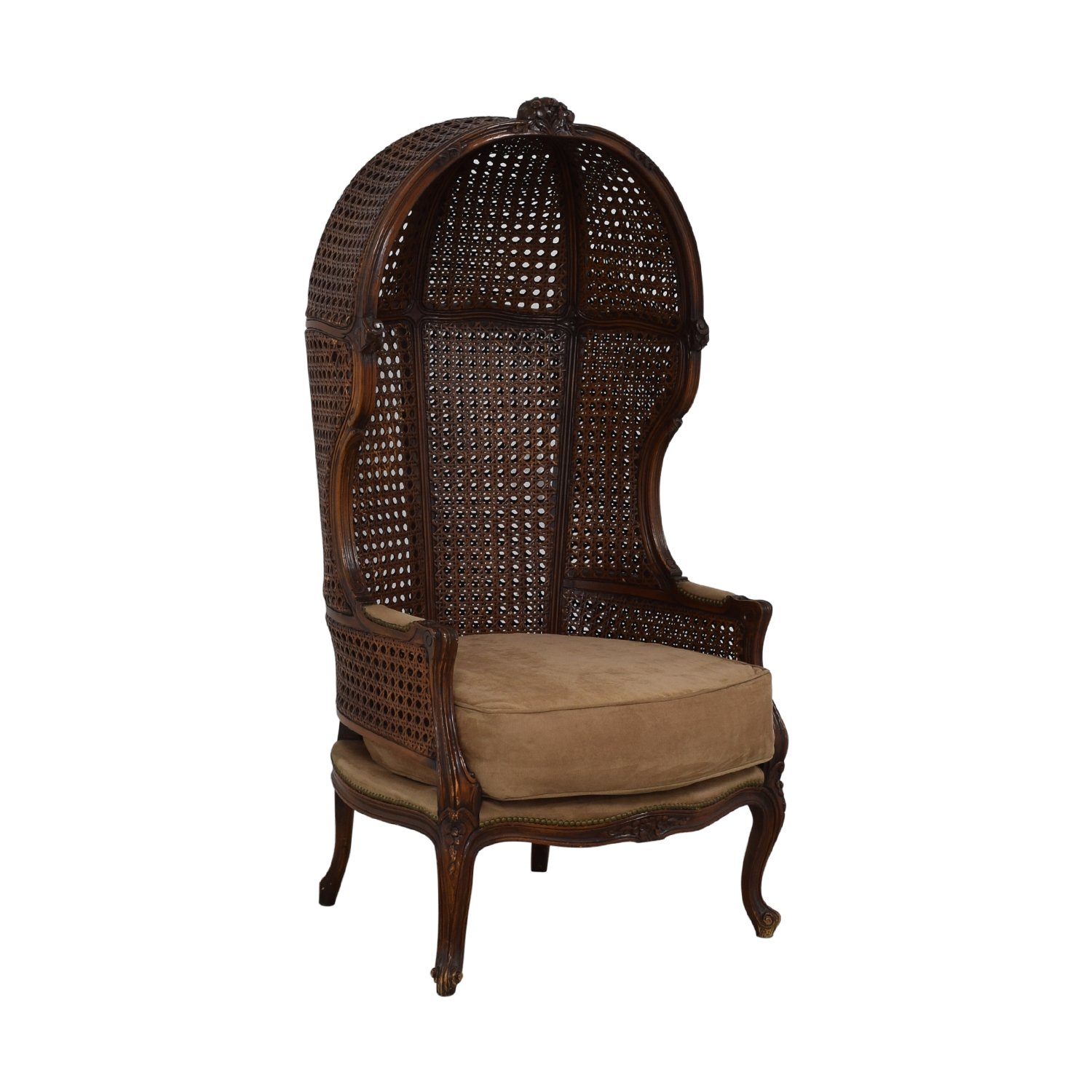 Canopy Cane Back Chair second hand