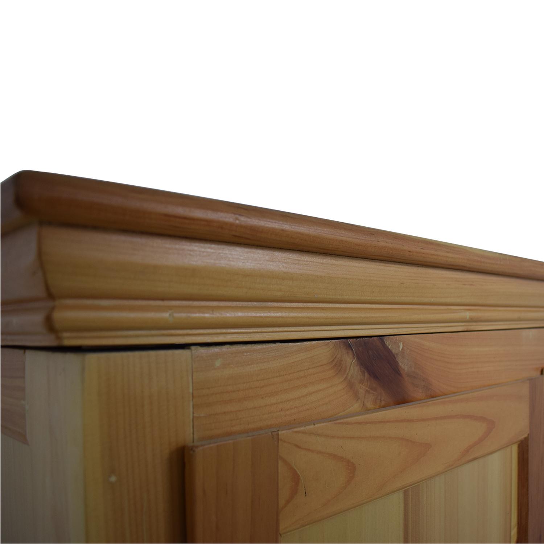 Gothic Cabinet Craft Gothic Cabinet Craft Pine Wardrobe coupon