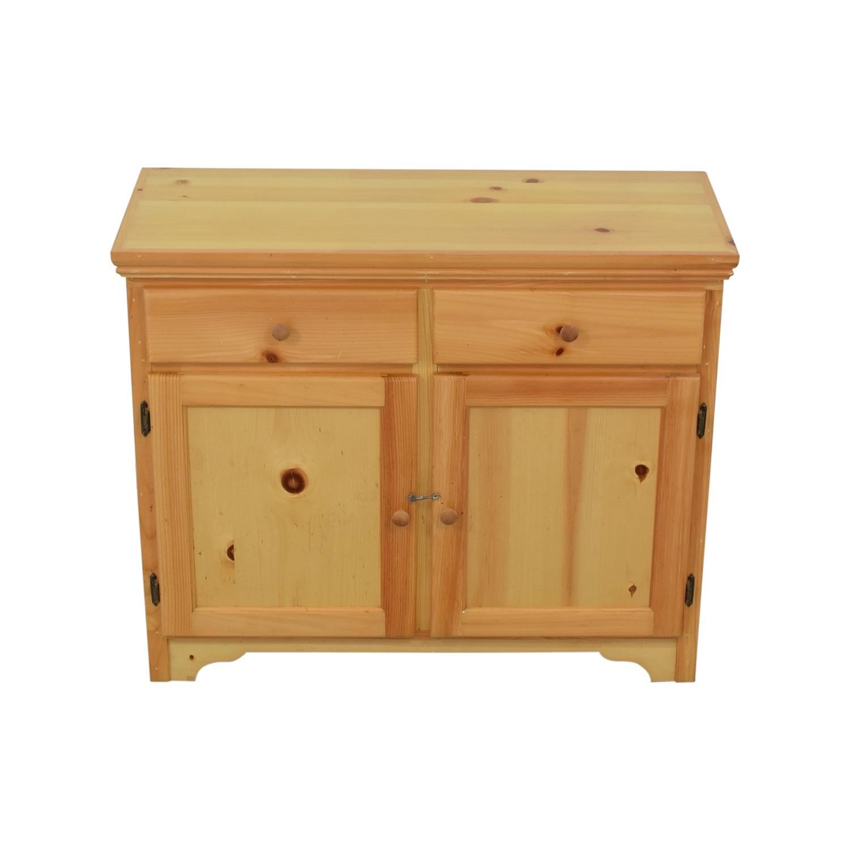 Gothic Cabinet Craft Kitchen Server Brown