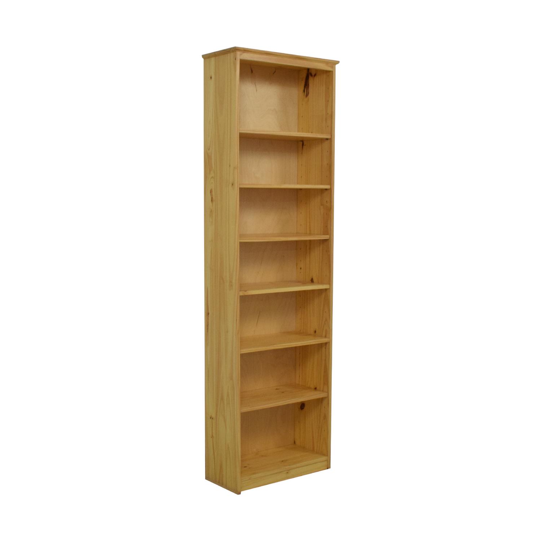Gothic Cabinet Craft Gothic Cabinet Craft Two Foot Wide Bookcase brown