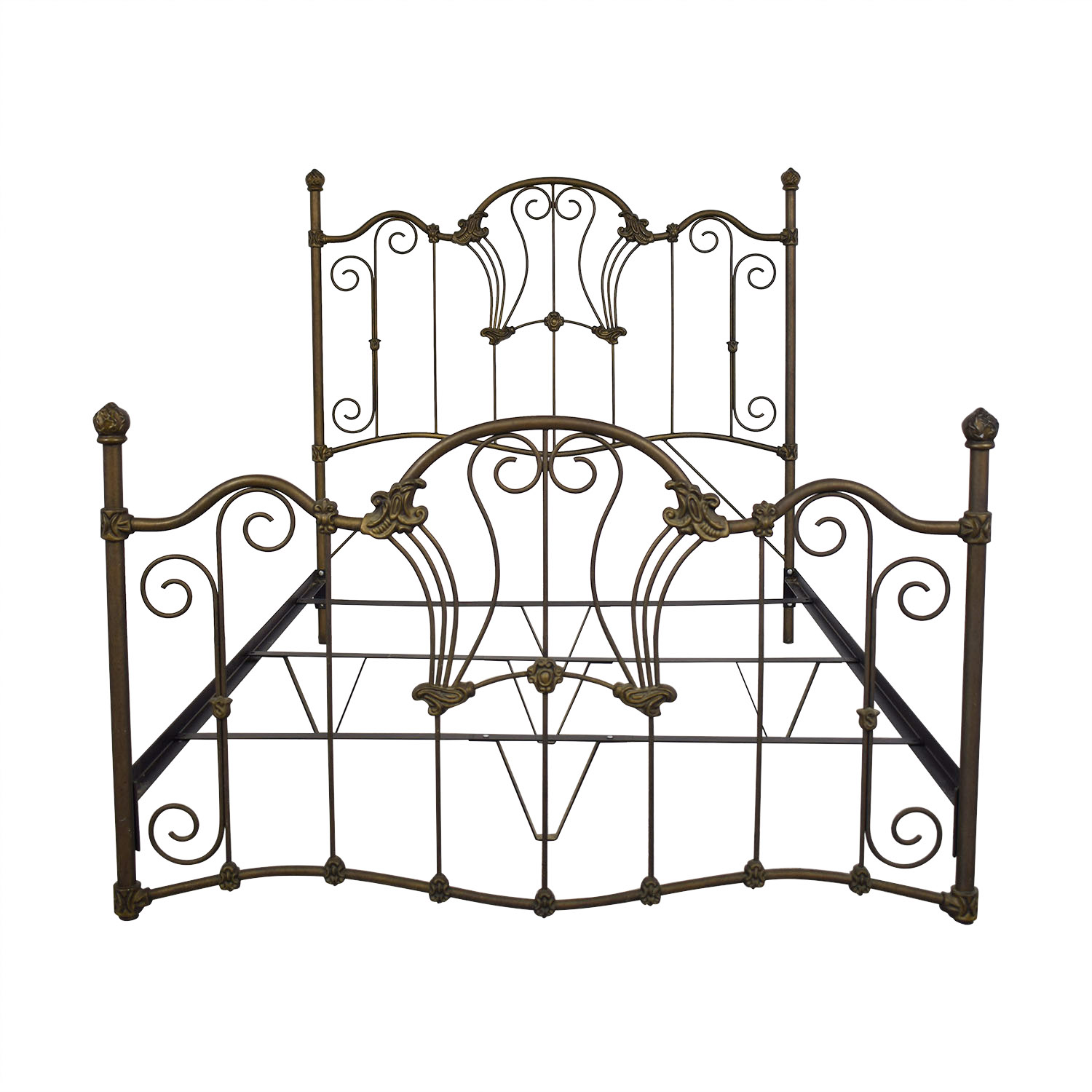 Charles P. Rogers Charles P. Rogers Queen Sized Wrought Iron Bed coupon