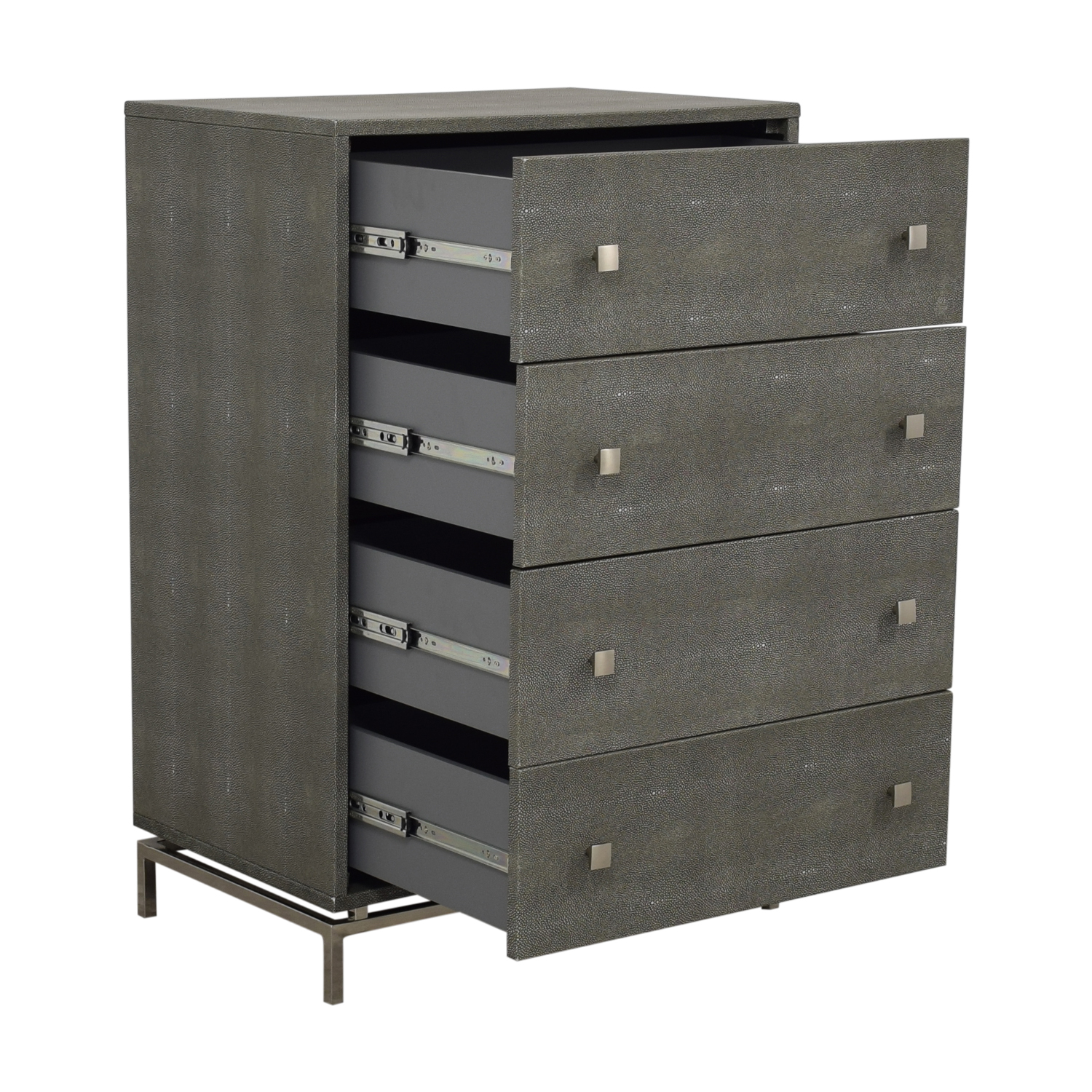 CB2 CB2 Shagreen Embossed Tall Chest coupon