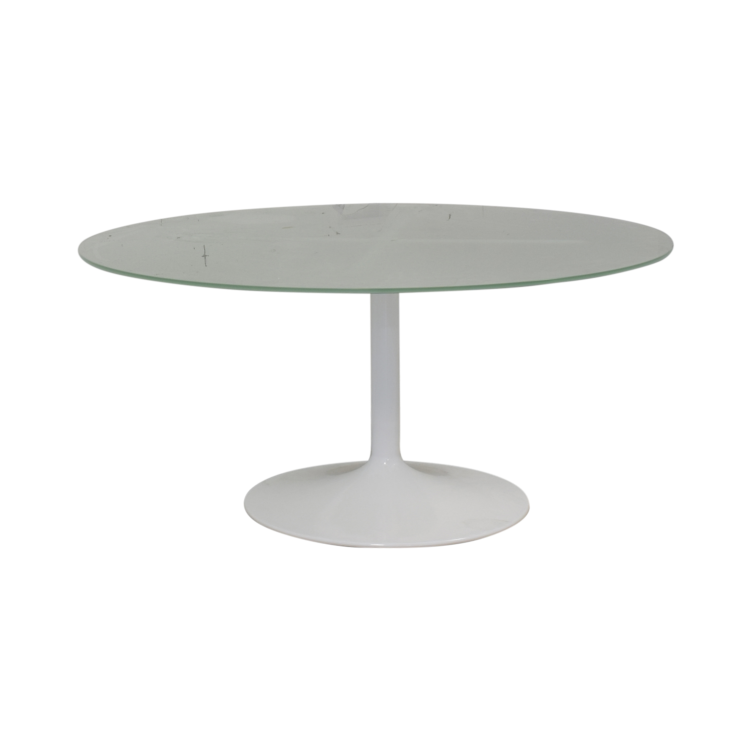Room & Board Room & Board Aria Round Glass Dining Table Tables