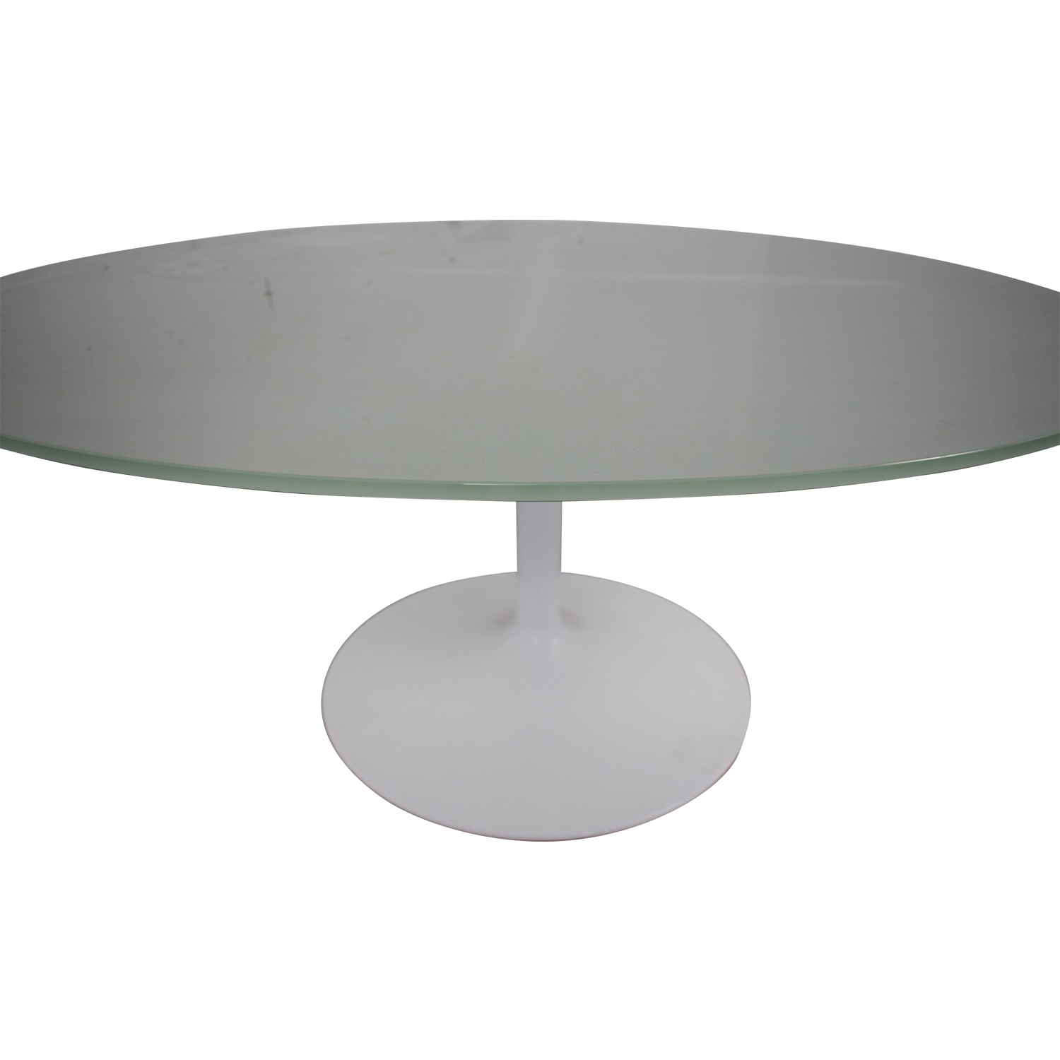 shop Room & Board Aria Round Glass Dining Table Room & Board Dinner Tables