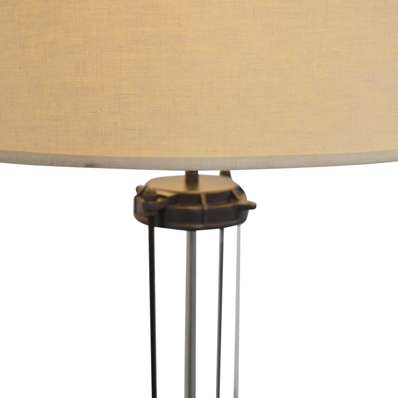 shop Restoration Hardware French Column Glass Floor Lamp Restoration Hardware Decor
