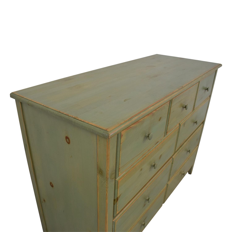Gothic Cabinet Craft Green Distressed Dresser sale
