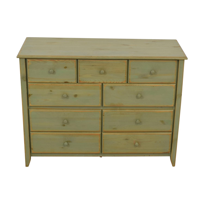 Gothic Cabinet Craft Gothic Cabinet Craft Green Distressed Dresser second hand