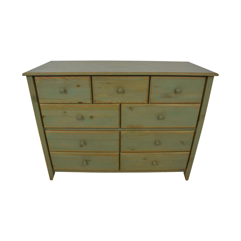 Gothic Cabinet Craft Green Distressed Dresser Gothic Cabinet Craft