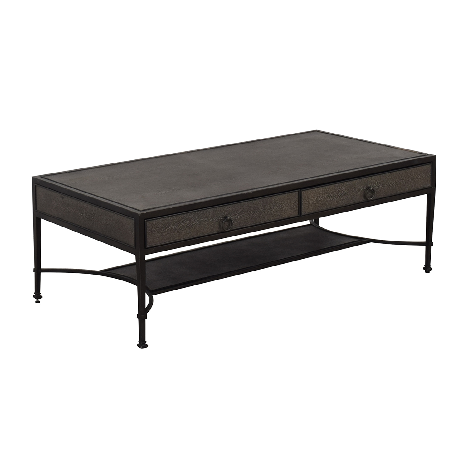 Restoration Hardware Restoration Hardware Coffee Table Dark Grey