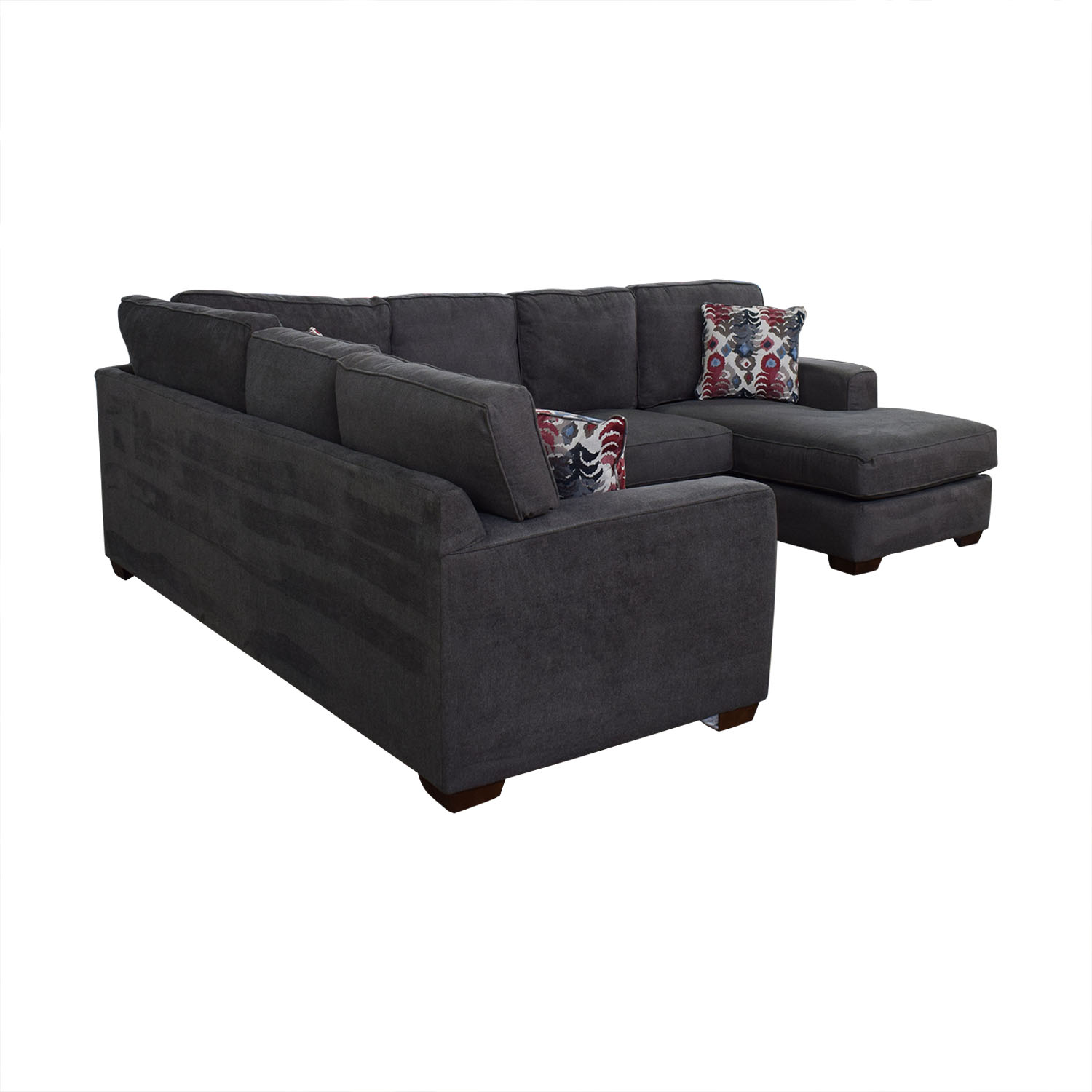 Klaussner Klaussner Abbott Three-Piece Chaise Sectional Sofa nyc